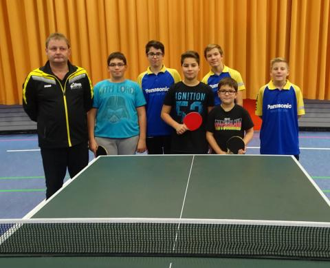 Tischtennis-Nachwuchs beim Turnier in Aistaig