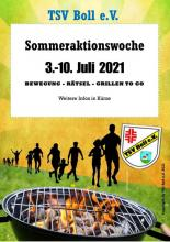 Sommeraktionswoche TSV Boll